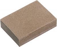 Губка шлифовальная (3 шт, 100х70х25 мм, мягкая, P 60/80, P 60/100, P 80/120) MATRIX 75705
