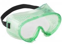 Защитные очки закрытого типа с прямой вентиляцией (поликарбонатная линза) Зубр МАСТЕР 11027