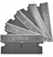 Лезвия сменные MASTER (5 шт, 40 мм, тип Н01) для скребков 0853, 08533, 08535 STAYER 08549-S5_z01