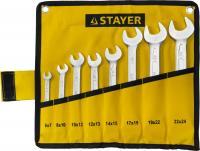 Набор гаечных рожковых ключей 6-24мм, 8шт STAYER PROFI 27035-H8