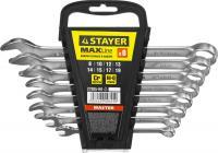 Набор комбинированных гаечных ключей 8-19мм, 8шт STAYER MASTER 27085-H8