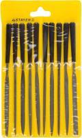 Набор надфилей с пластмассовой ручкой 100мм, 10шт STAYER 16011-H10_z01