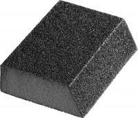 Угловая шлифовальная губка средней жесткости, зерно - оксид алюминия, Р120, 100x68x42x26мм STAYER MASTER 3561-120
