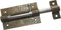Дверная задвижка Tech-Krep 7 бронза -пакет 138874