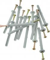 Дюбель-гвоздь Tech-Krep 6х80 грибовидная манжета, полипропилен 10 шт - пакет 103902