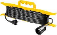 Удлинитель на рамке Stayer MF 207, 50 м, 2200 Вт, 1 гнездо, ПВС 2х0,75 мм2, 55018-50_z01