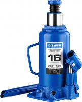 Гидравлический бутылочный домкрат 16т, 228-465мм, ЗУБР Профессионал T50 43060-16_z01