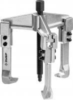 Раздвижной съемник, 3-захватный, 150 мм, ЗУБР Профессионал 43312-180-150