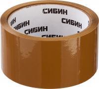 Клейкая лента СИБИН коричневая, 48мм х 50м 12057-50-50_z02