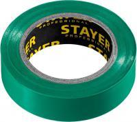 Изолента ПВХ STAYER Protect-10 10м 0,13х15 мм, зеленая 12291-G