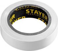 Изолента ПВХ STAYER Protect-10 10м 0,13х15 мм, белая 12291-W