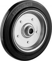 Колесо (250 мм, г/п 210 кг, резина/металл, игольчатый подшипник) ЗУБР 30936-250