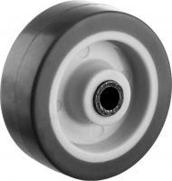 Колесо (50 мм, г/п 40 кг, термопластичная резина/полипропилен) ЗУБР 30946-50