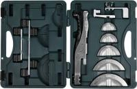 Рычажный трубогиб для высокоточной гибки труб из цветных металлов под углом до 90 град, в боксе, 3/8',1/2',5/8',3/4',7/8' Kraftool INDUSTRIE 23501-H6