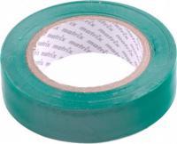 Изолента MATRIX ПВХ, 15 мм х 10 м, зеленая, 150 мкм 88774