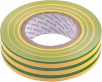 Изолента MATRIX ПВХ, 19 мм х 20 м, желто-зеленая, 150 мкм 88783