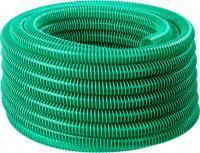Шланг напорно-всасывающий со спиралью ПВХ (30 м, 32 мм, 3 атм) ЗУБР 40325-32-30