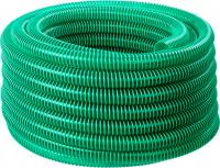 Шланг напорно-всасывающий со спиралью ПВХ (30 м, 38 мм, 3 атм) ЗУБР 40325-38-30