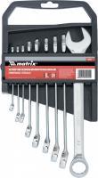Набор комбинированных ключей 6-22мм 9шт MATRIX 15424