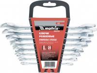 Набор рожковых ключей 8 шт. MATRIX Master 15238