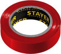 Изолента STAYER Protect-10 ПВХ10м (0,13х15 мм), красная 12291-R