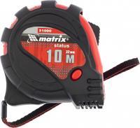 Рулетка 10 м х 32 мм Status magnet 3 fixations MATRIX 31000