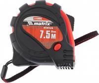 Рулетка 7.5 м х 25 мм Status magnet 3 fixations MATRIX 31006