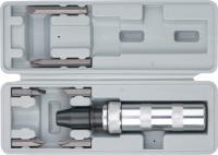 Ударно-поворотная отвертка с набором бит 1/2', 6 шт MATRIX 11575