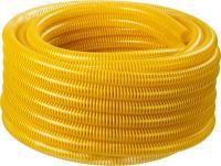 Шланг напорно-всасывающий со спиралью ПВХ (30 м, 38 мм, 10 атм) ЗУБР 40327-38-30