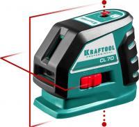 Лазерный линейный нивелир KRAFTOOL CL-70 34660