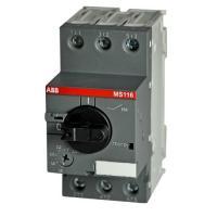 Автомат ABB MS116-4.0 50 кА с регулируемой тепловой защитой 2.5A - 4.0А