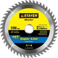 Диск пильный по дереву MASTER «SUPER-Line» (230х30 мм, 48Т) для циркулярных пил Stayer 3682-230-30-48