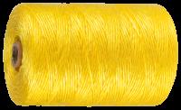 Зубр Шпагат ЗУБР многоцелевой полипропиленовый, желтый, 1200текс, 110м 50037-110