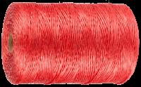 Зубр Шпагат ЗУБР многоцелевой полипропиленовый, красный, 1200текс, 110м 50039-110