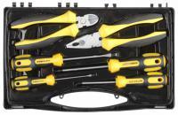 Набор слесарно-монтажного инструмента STAYER CHROMAX: 4 отвертки, плоскогубцы и бокорезы, 6 предметов 2202-H6