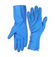 Перчатки нитриловые (размер L) с х/б напылением Зубр 11255-L