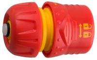 Соединитель пластмассовый 3/4' c автостопом и запирающим механизмом Grinda 8-426332