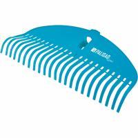 Грабли веерные пластиковые, 485 мм, 23 плоских зуба, усиленные, LUXE Palisad 61793