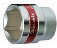Головка торцевая 6-гранная (1/2', 22 мм) MASTER MATRIX 13122