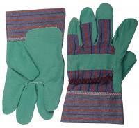 Перчатки зеленые из искусственной кожи (размер XL) STAYER 1132-XL