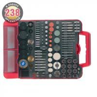 Набор мини-насадок (238 предметов) для гравировальных машин Зубр 35902-H238