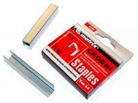 Скобы заостренные (14 мм, 1000 шт., тип 53) для мебельного степлера MATRIX 41144