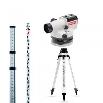 Оптический нивелир ADA instruments BASIS + Light S + Staff3  со штативом