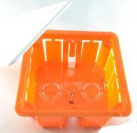 Коробка распаячная для кирпичных стенах 92х92х45